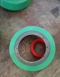 PU Lined Wheels