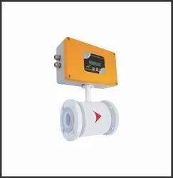 Electromagnetic Flow Meter with Telemetry System
