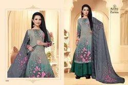 Radhika Zatina By Azara Series 1001-1004 Crape Digital Printed Suits