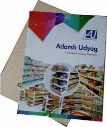 Paper Printed Promotional Catalog