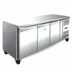 SPL SS 3 Door Table Top Freezer
