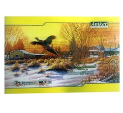 White 32 Pages Aniket Drawing Book, Size: 29.7 X 21
