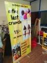Printed Advertising Roll Up Stands