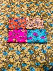 Printed Cotton Nighty Fabric, Batik Prints, Multicolour
