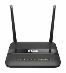 Black Wireless or Wi-Fi DSL-2750U D Link Wifi Router