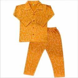 Cotton Night Suit For Unisex