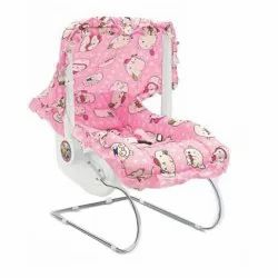 Red And Pink Plastic,SS 12 In 1 Baby Bouncer