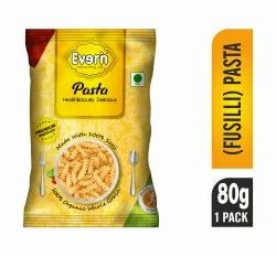 Everin Pasta (Fusilli)-80gm, Packaging Type: Packet