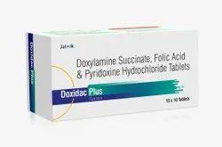 Doxylamine Succinate Pyridoxine Folic Acid Tablet