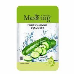MASKING BEAUTY - CUCUMBER FACIAL SHEET MASK
