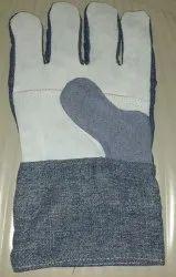 Full Finger Unisex Leather Jeans Hand Gloves