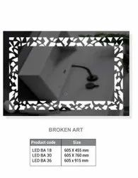 LED Mirror With Touch Sensor