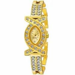Qurartz Women Ladies Bracelet Watches, For Personal Use, Model Name/Number: AD36