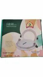 Saram Round 15W LED Panel Light, For Lighting, 220V