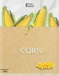Frozen Foodstuff Sweet Corn, Packaging Type: Food Grade Bag