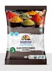 Indior Organic Black Pepper Powder, Packaging Type: Packet, Packaging Size: 40 g