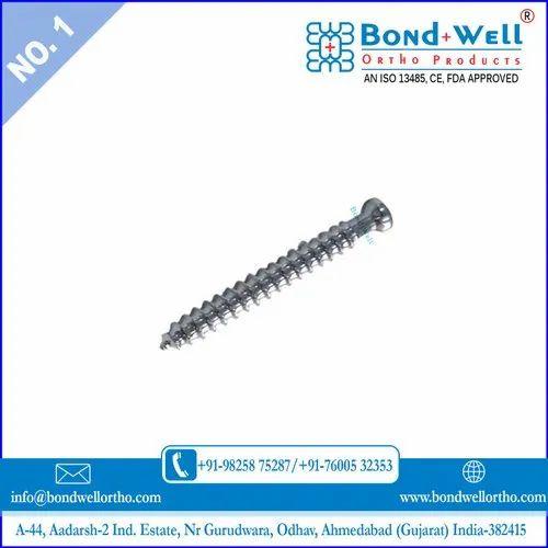 Orthopedic Cancellous Bone Screw
