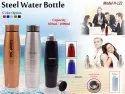 Standard color Assorted Steel Water Bottles