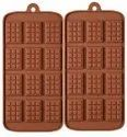Silicone Mini Chocolate Mold - 12 Slab Mini Bar