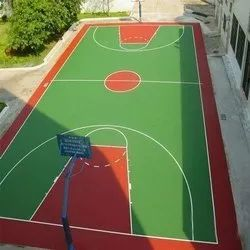 Basketball Synthetic Court