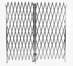 Stainless Steel SS Collapsible Gates, For Industrial
