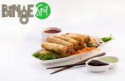 FROYUMM Frozen Veg Chinese Spring Roll, Packaging Type: LDPE Bags