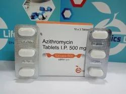 Ezicare-500 mg  Azithromycin Tablets