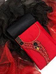 Leranath Fashion Regular Hand Work Jam Cotton Ladies Suit