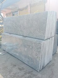 White-grey S White Granite Slab, Thickness: 15-20 mm