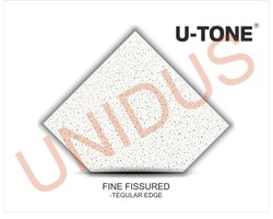 Fine Fissured 15mm Tegular Acoustic Mineral fiber ceiling