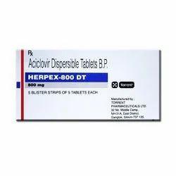 Herpex 800mg Tablet DT