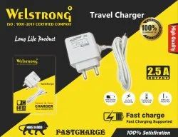 1 Meter White Welstrong Mobile Charger