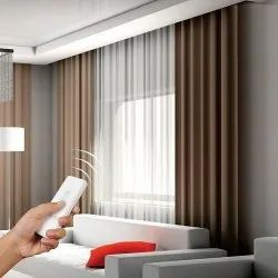 PVC Motorized Curtain, For Home