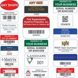 Serial Number Stickers
