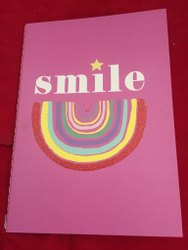 Perfect Bound Pink Kids School Notebook, For Writing, Size: 15*25 Mm