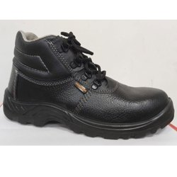 Agarson Raffle PU Leather Safety / Industrial Shoes