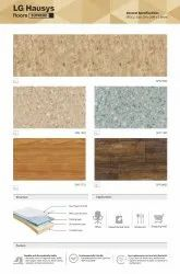 LG Vinyl Floor, For Home, Hotel And Institute, Thickness: 1.8 & 2.2 Mm