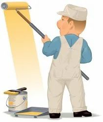 Painter Contractor Service, Wall Texture Painting, Location Preference: Gujarat State