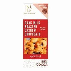 Bar NID'Z Dark Milk Roasted cashew Chocolate