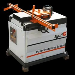 Single Head Pallet Stringer Notcher Machine