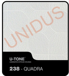 238 Quadra Gypsum Tiles False Ceiling