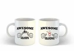 Combo Coffee Printed Mugs - Corporate, Promotional, Event, Anniversary and Birthday Gift