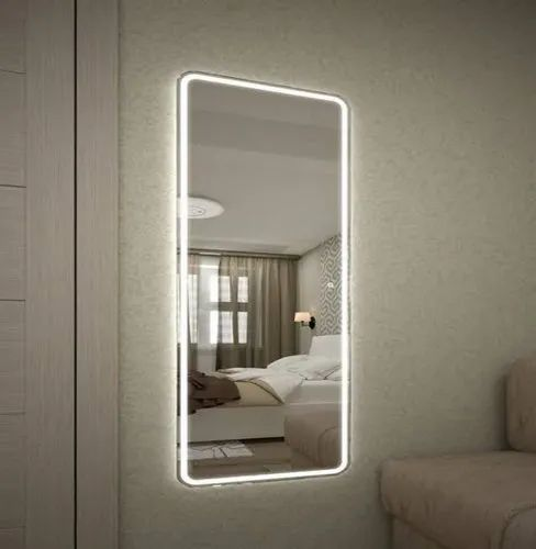 Wall Mounted Cool White Dressing Room, Dressing Room Mirror With Light Furniture