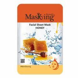 MASKING BEAUTY - HONEY FACIAL SHEET MASK