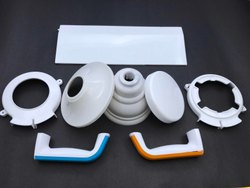 White Plastic Moulded Components