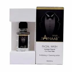 Activated Charcoal Face Wash - JANAAB