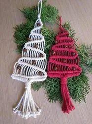Macrame Christmas Ornaments