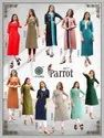 Thankar 3/4th Sleeve Designer Heavy Rayon Embroidered Kurti, Wash Care: Dry Clean