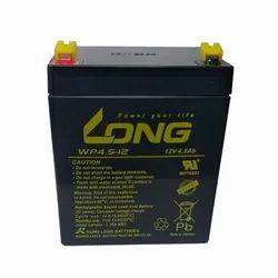 Long SMF Battery 12V-4.5Ah (WTZ4V), 1.62 Kgs