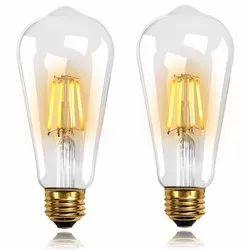 MTC Aluminum & Glass LED Filament Bulb